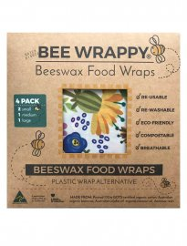 Bee wrappy bivax food wrap naturlig folie