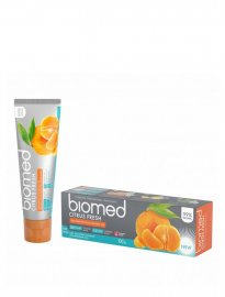 Biomed naturlig tandkräm citrus fresh