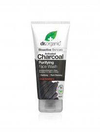 Dr Organic face wash activated charcoal aktivt kol