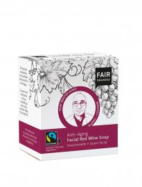 Fair Squared ansiktstvål vegan anti-age red wine