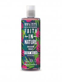 Faith in nature ekologisk body wash dusch drakfrukt tropisk dragon fruit