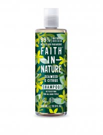 Faith in nature ekologiskt schampo seaweed sjögräs citron