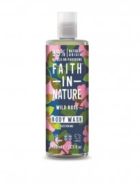 Faith in nature ekologisk body wash dusch wild rose