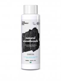 Munskölj mouthwash charcoal aktivt kol The humble co