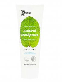 Naturlig, vegansk tandkräm, 75 ml, fresh mint – The Humble Co