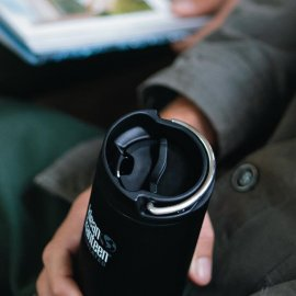 Klean Kanteen TKWide insulated isolerad kaffemugg termos