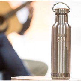 Klean kanteen 800 ml reflect bambukork