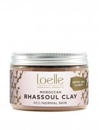 Loelle rhassoullera red lava clay