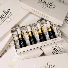 Loelle organic beauty family travel set