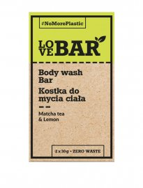 LoveBAR Body Wash Matcha Tea & lemon