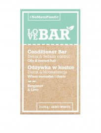 LoveBAR balsamkaka conditioner bar detox