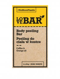 LoveBAR Body scrub coffee orange kaffe peeling