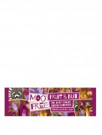 Moo free choklad mjölkfri vegan glutenfri chocolate bar fruit nut
