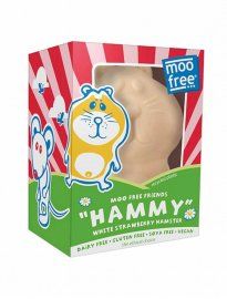 Moo Free Hammy White strawberry hamster