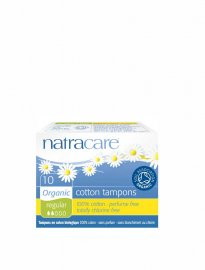 Ekologiska tamponger Naturacare normal 10-pack