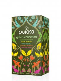 PUKKA ekologiska teer green collection