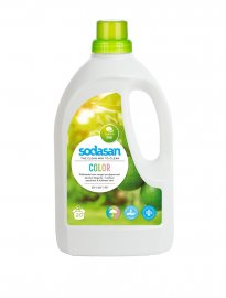 Sodasan tvättmedel color lime 1500 ml