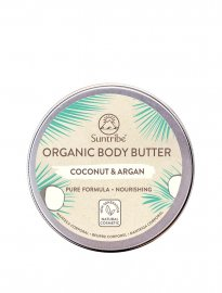 Suntribe Organic Body Butter coconut & argan