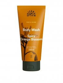 Urtekram ekologiskt body wash rice & shine spicy orange blossom 200 ml