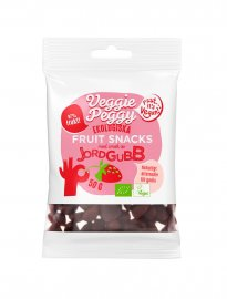 Veggie peggy fruit snacks jordgubb vegan ekologiskt
