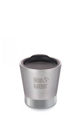 Klean Kanteen Insulated Tumbler, 237 ml, Brushed Stainless
