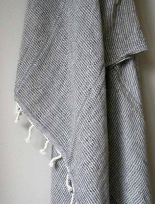 Vacker krinklad Hamam   handduk i ekologiskt bomull 188c875b8a23d