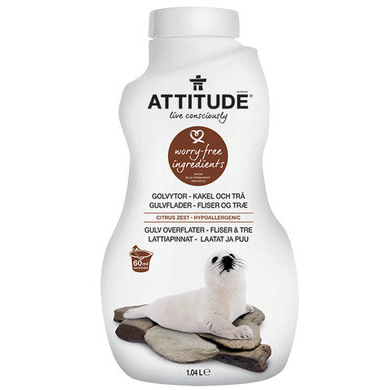Attitude golvrent 1040ml
