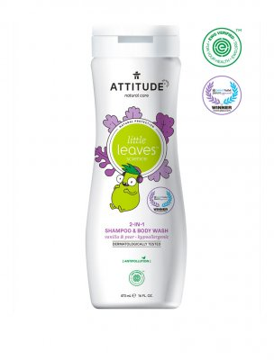 Attitude Little Leaves Shampoo & Body Wash vanilla pear