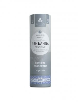 Ben & Anna naturlig deo sensitive highland breeze