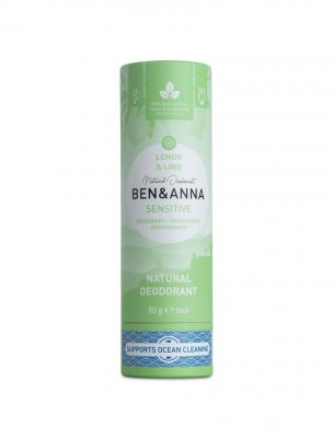 Ben & Anna naturlig deo sensitive lemon & Lime
