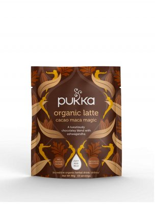 Pukka lattemix Cacao Maca Magic ekologisk