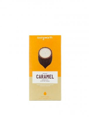Loving Earth raw choklad caramel