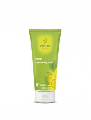Weleda citrus body wash