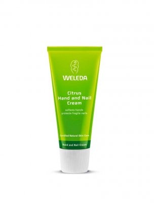 Citrus hand and nail cream weleda