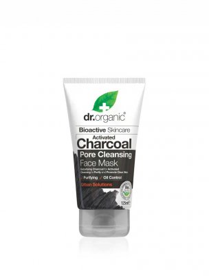 Dr Organic face mask activated charcoal aktivt kol
