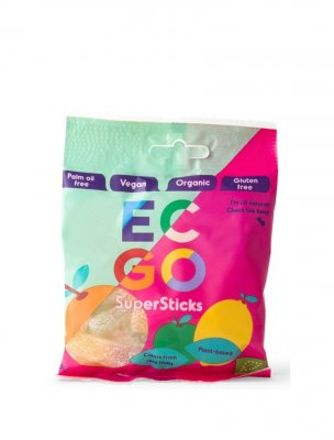 EC-GO ekologiskt vegan godis supersticks pinnar