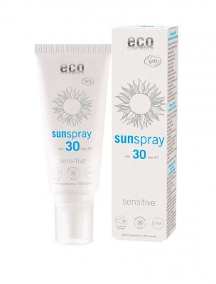 Sun spray sensitive SPF 30, Ekologisk, 75 ml - Eco Cosmetic