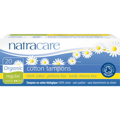 Ekologiska tamponger Naturacare normal 20pack