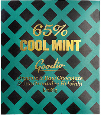 Goodio RAW eko choklad cool mint