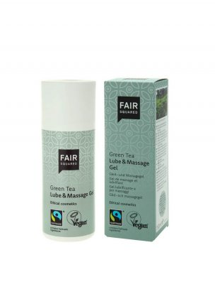 Fair Squared Glidmedel & Massagegel Grönt Te 150ml