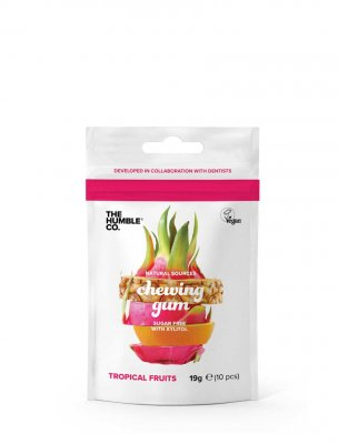Humble naturligt tuggummi tropical natural chewing gum