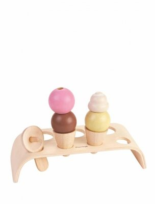 Ice cream set Plantoys glasset från plantoys