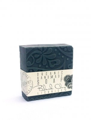 KALIflower black Clay soap tvål ekologisk