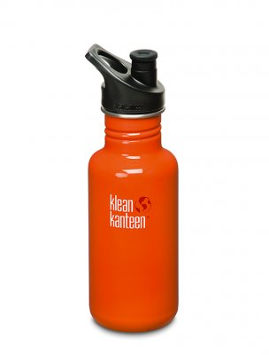 Klean Kanteen 532 ml Orange flame