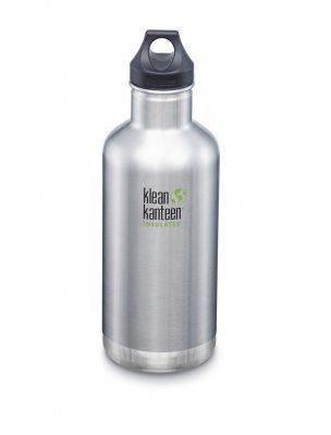 Klean Kanteen classic insulated 946 brushed steel