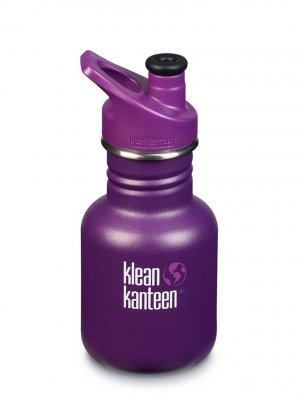 Klean Kanteen 355ml giftfri vattenflaska - Grape Jelly