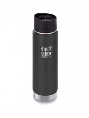 Klean Kanteen, wide isolated, 592 ml - Shale Black