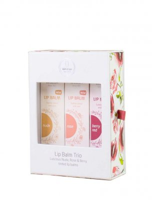 Lip balm trio presentbox Weleda