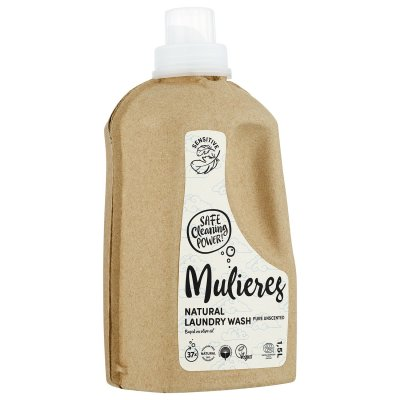 Mulieres naturligt tvättmedel Laundry Wash Pure Unscented