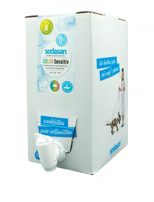 Sodasan tvättmedel color sensitive dunk  5 liter